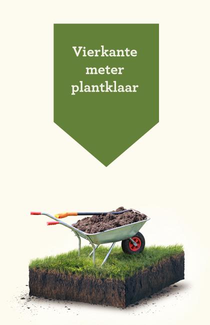 Vierkante meter plantklaar