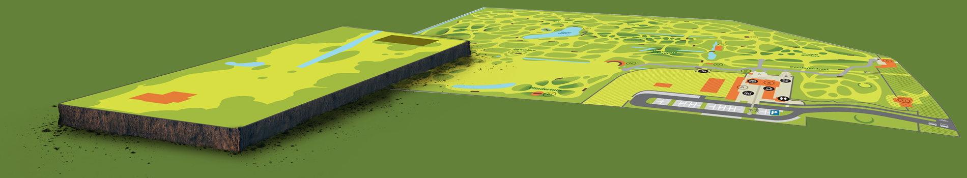 plattegrond arboretum + uitbreiding